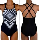 Sexy Women's One Piece Swimsuit Swimwear Bathing Push Up Padded Sweet Bikini Swimsuit Bathing Beachwear Bathers Plus Size 2XL