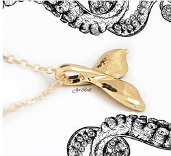 Whale Always Be Okay Pendant Necklace - Pandemoneum.com