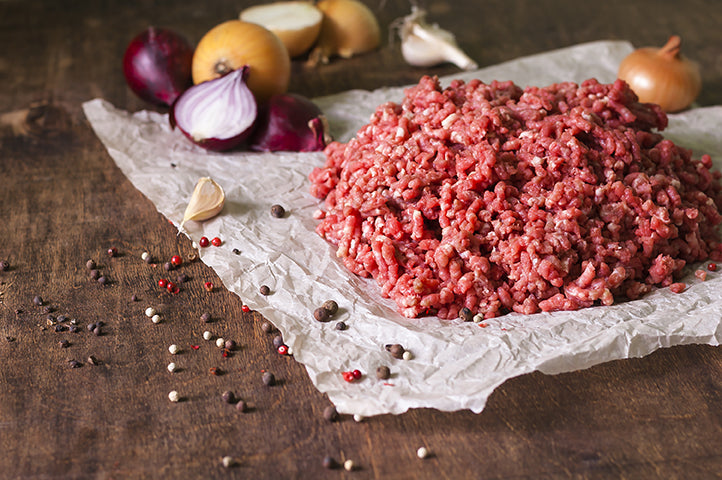 Grass-Fed, Grass Finished Ground Beef 5 Lb. Package
