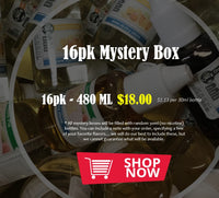 16 Pack Mystery Box - eJuicy eLiquid