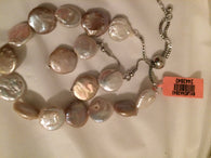 Multi Color Coin Pearl Bracelet Set