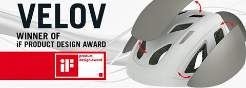 IF Design Award Winning Helmet - Limar Velov