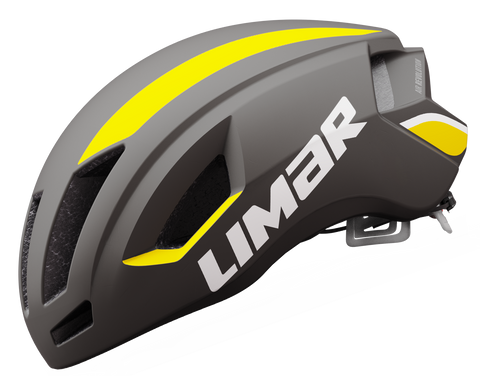 Limar Air Speed Road Helmet - Matt Black/Yellow