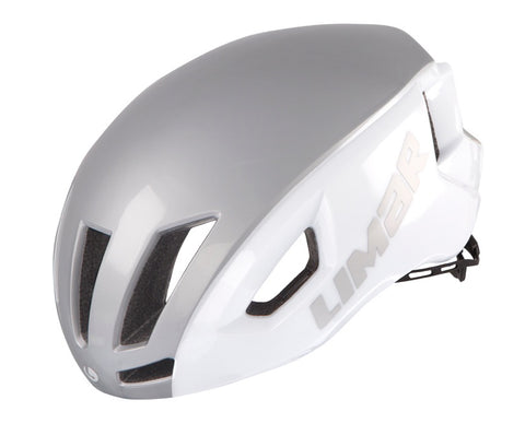 Limar Air Speed Road Helmet - White/Silver (Medium Only)