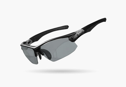 2021 LIMAR ELIAS PHOTOCHROMIC CYCLING GLASSES | MATT BLACK/TITANIUM