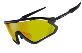 2020 LIMAR VEGA POLYCARBONATE CYCLING GLASSES | MATT BLACK TITANIUM
