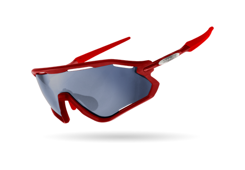 2021 LIMAR VEGA POLYCARBONATE CYCLING GLASSES | RED