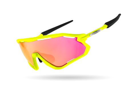 2021 LIMAR VEGA POLYCARBONATE CYCLING GLASSES | YELLOW FLUO