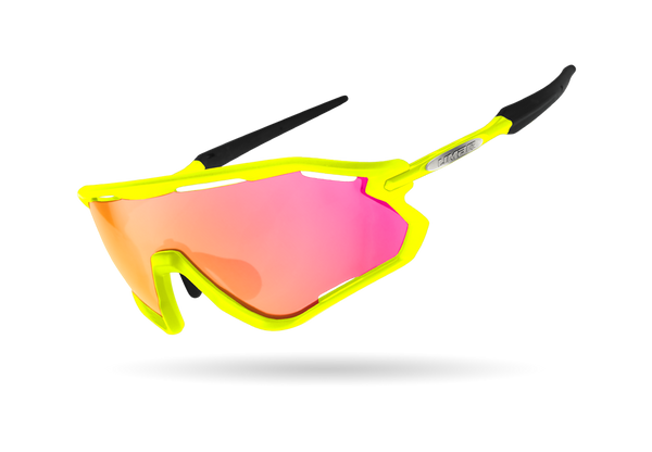 2020 LIMAR VEGA POLYCARBONATE CYCLING GLASSES | YELLOW FLUO