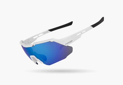 2021 LIMAR KONA POLYCARBONATE CYCLING GLASSES | WHITE