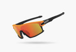 2021 LIMAR F90 POLYCARBONATE CYCLING GLASSES | BLACK/ORANGE