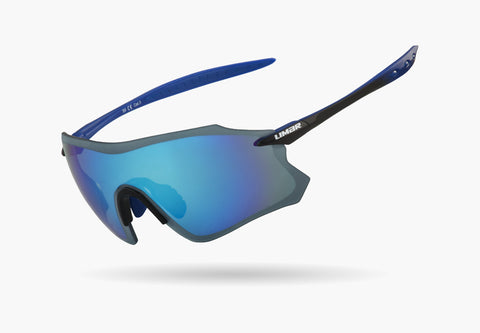 2021 LIMAR S9 POLYCARBONATE CYCLING GLASSES - Black/Blue