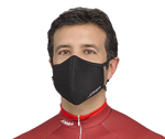 Anti-Pollution Cycling Face Mask - All Black
