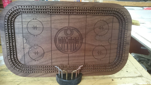 Cribbage Board Hockey Arena