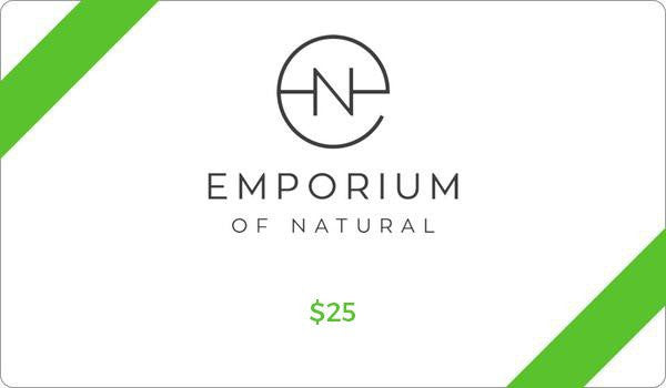 Emporium of Natural $25 Gift Card