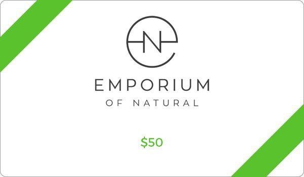 Emporium of Natural $50 Gift Card