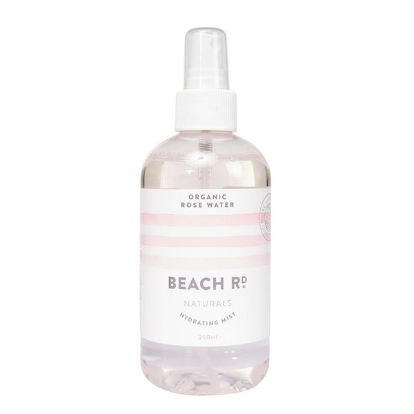 Beach Rd Naturals Organic Rosewater Hydrating Mist | Emporium of Natural