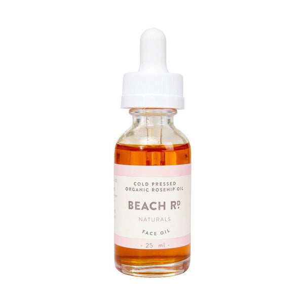Beach Rd Naturals Cold Pressed Rosehip Oil Certified Organic ingredients Emporium of Natural