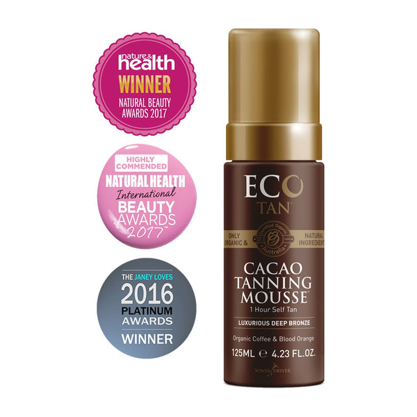 Eco Tan Organic Cacao Tanning Mouse | Emporium of Natural