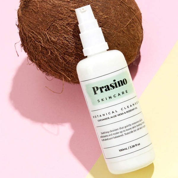 Prasino Skincare Botanical Cleanser | Emporium of Natural, organic ingredients, toxin free, vegan, cruelty free, Australian Made, plastic free