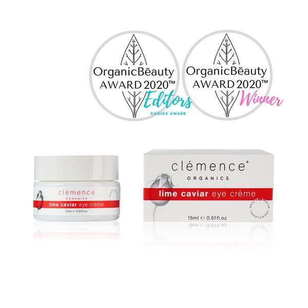 Clemence Organics Lime Caviar Eye Cream | Emporium of Natural | Natural, Vegan, Cruelty Free, Australian made