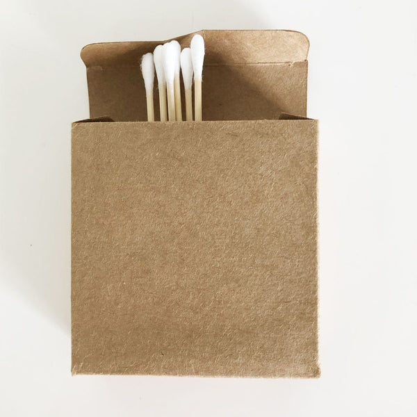 Emporium of Natural Bamboo Cotton Buds Biodegradable