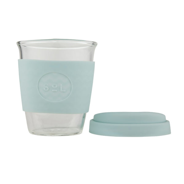 Sol Cups 12 oz Cool Cyan Emporium of Natural Plastic Free