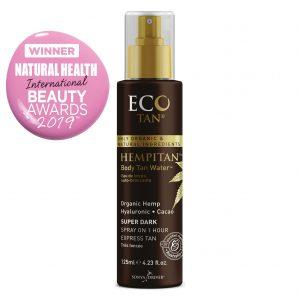 Eco Tan Organic Hempitan Body Tanning Water Cruelty Free Vegan Emporium of Natural