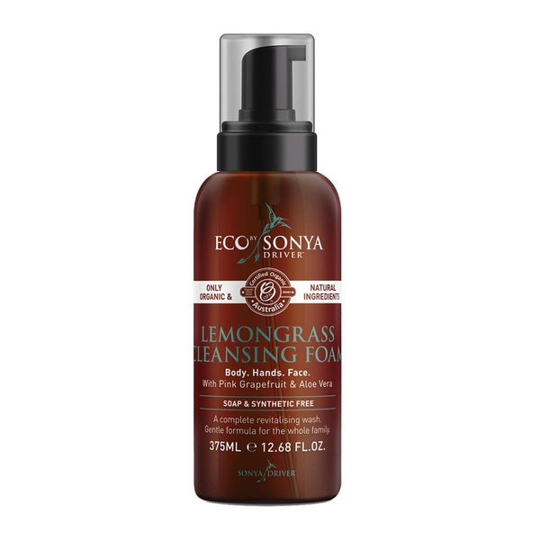 Eco by Sonya Driver Lemongrass Cleansing Foam | Emporium of Natural