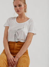Dancer U-Neck Tee