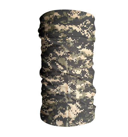 Forest Hunting Camouflage Face Mask Sun Shield Bandana Gaiter