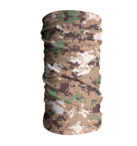 Desert Camouflage Tactical Fishing Face Mask Sun Shield Bandanas