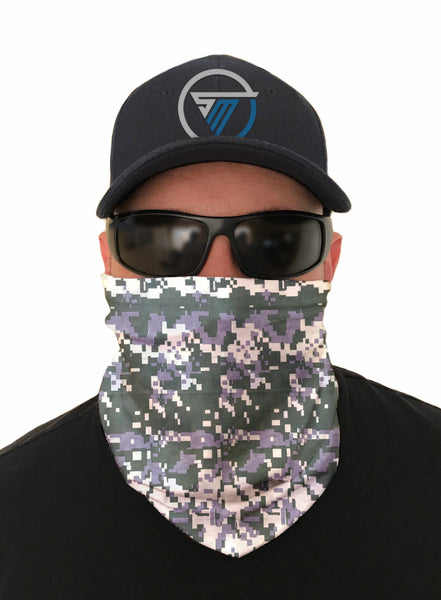 Forest Camouflage Tactical Face Mask Sun Shield Bandanas