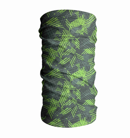 Green Chameleon Fishing Face Mask Sun Shield Bandanas