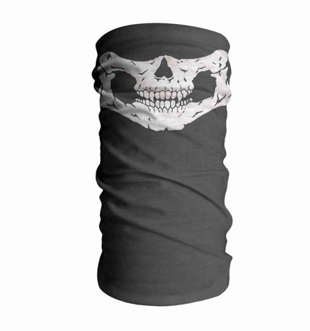 Skeleton Vampire Paintballing Face Mask Sun Shield Bandanas