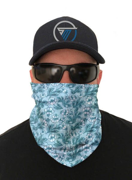Tranquility Kayaking Face Mask Sun Shield Bandanas