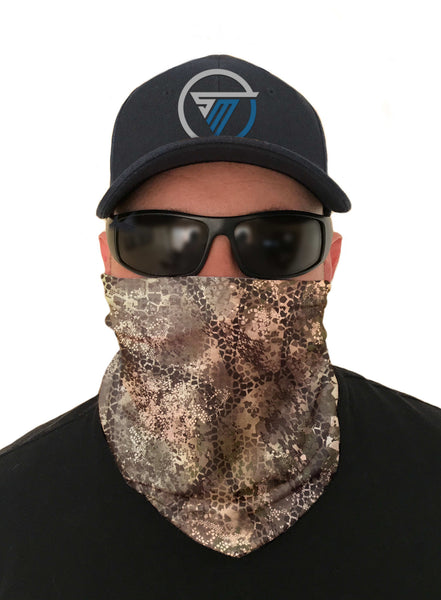 Gray Tree Frog Fishing Face Mask Sun Shield Bandanas