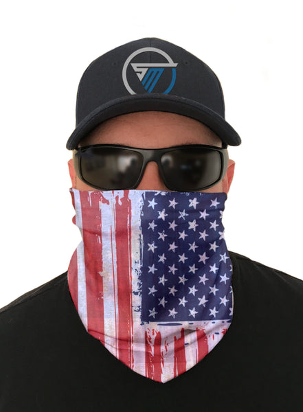 Best USA Flag 3 Pack Face Mask Sun Shield Bandana Special