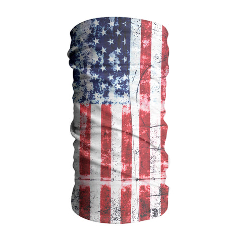 USA Flag Face Mask Sun Shield Bandana Neck Gaiter #2