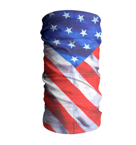 USA Flag Face Mask Sun Shield Bandana Neck Gaiter #3