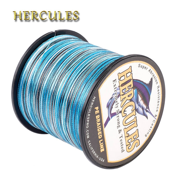 Camouflage PE Braided Fishing Line (Saltwater & Freshwater) - 4 Strands