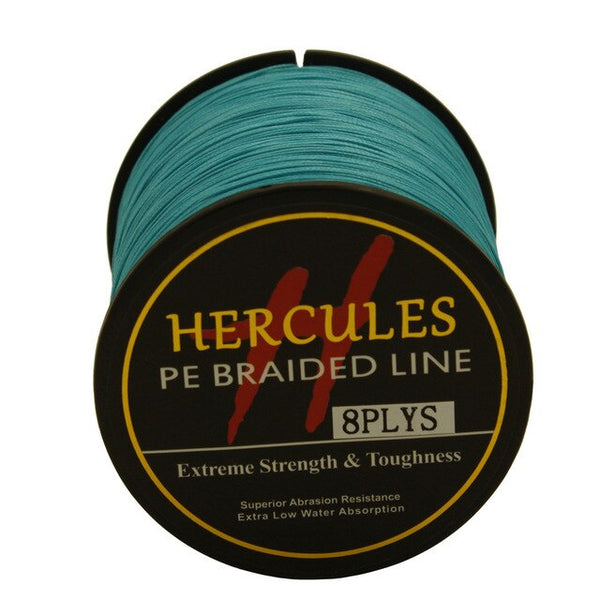13 Colors PE Braided Fishing Line (546 Yards) - 8 Strands