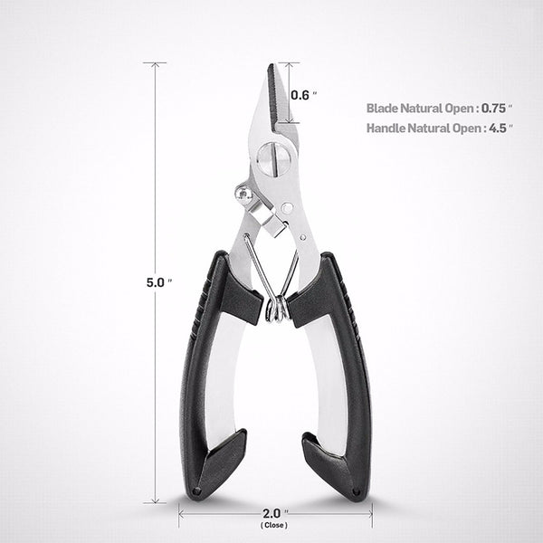 Stainless Steel Fishing Pliers / Braided Line Cutter