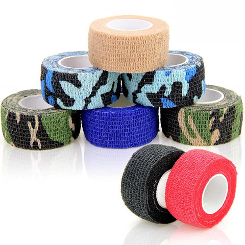 "8 Rolls 1"" Width Finger Self Adhesive Tape for Sports (Fishing)"