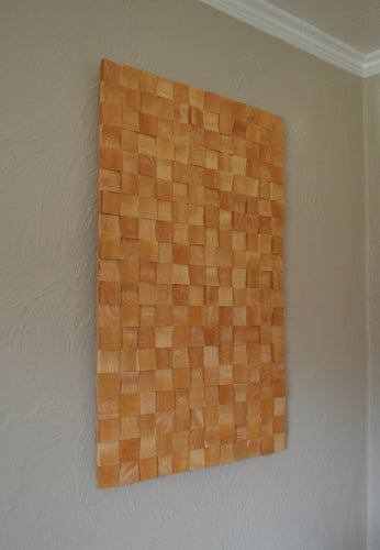 Square Birch Wall Art