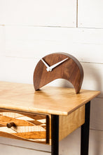 Tabletop Walnut Clock
