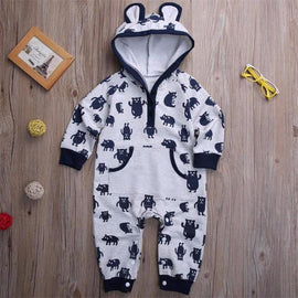 Baby Boys Beary Cute Jumpsuit
