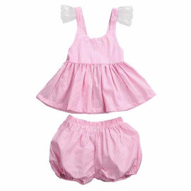 Baby Girls Pretty In Pink Top And Bloomers