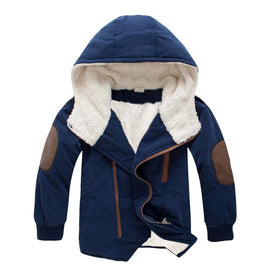 Boys Dreary Days Duffle Coat With Hood