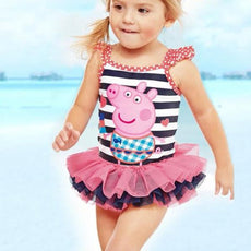 Girls Peppa Pig One Piece Swimsuit